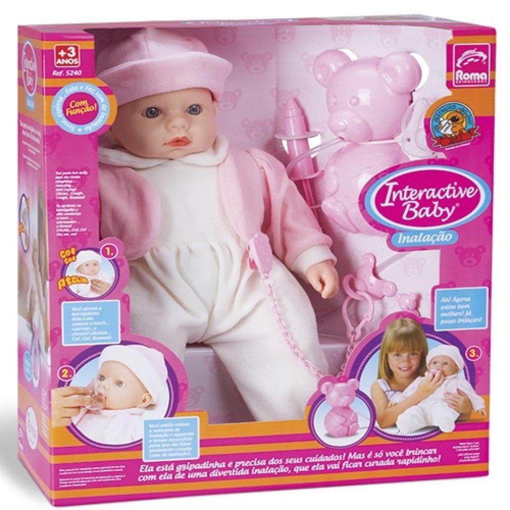 INTERACTIVE BABY PEDIATRA INALACAO 5240*