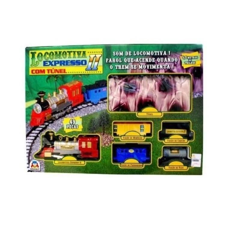 LOCOMOTIVA EXPRESSO 2 COM TUNEL 8001*