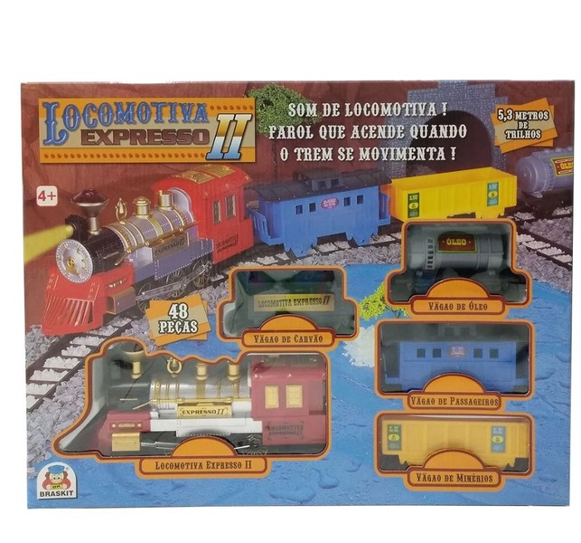 LOCOMOTIVA EXPRESSO II 8000 *