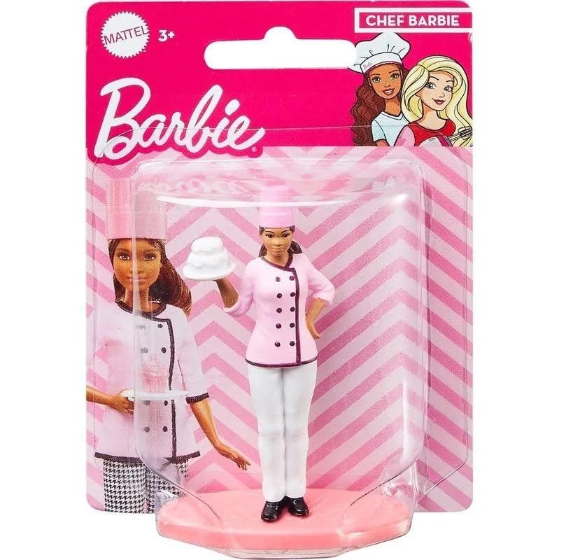 MINIATURA BARBIE CHEF *
