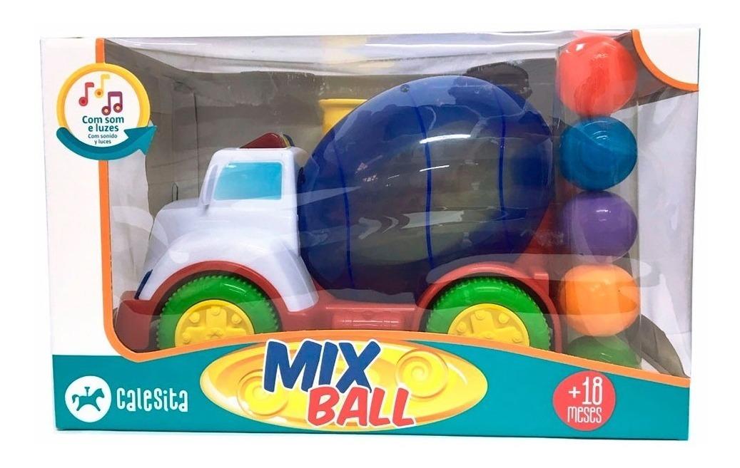 MIX BALL 828 CALESITA VERMELHO*