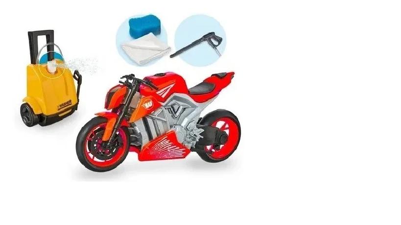 MOTO WASH GARAGE 460 VERMELHO*