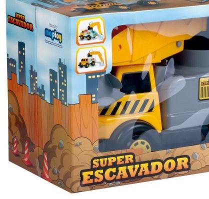 SUPER ESCAVADOR MAP TOY 221*