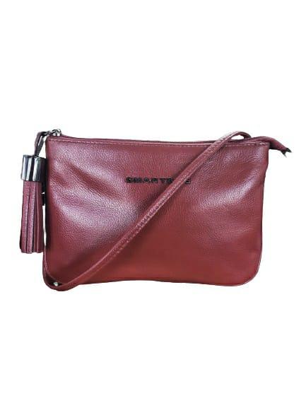Mini Bolsa Smartbag Marsala