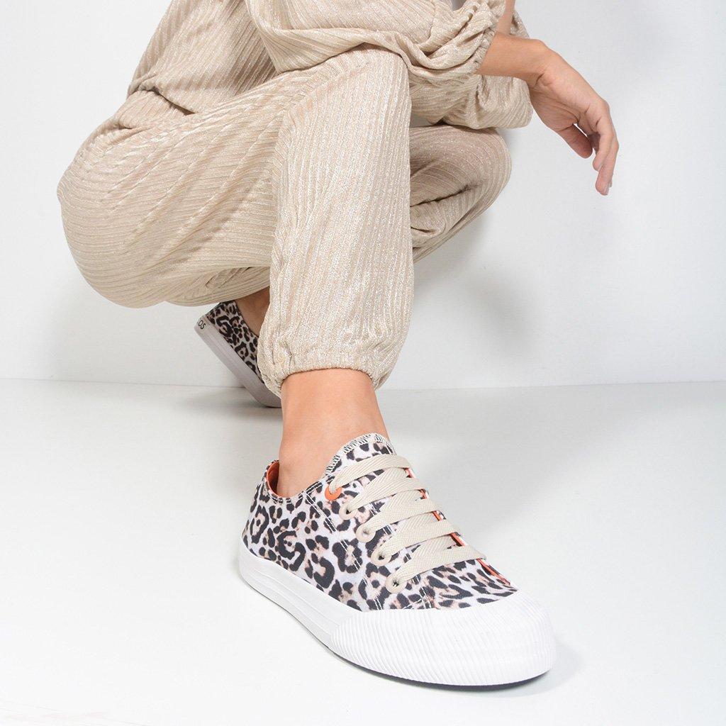 Tênis Pop Sneaker Animal Print