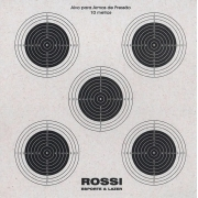 Alvo Rossi 5x1 (14x14cm) kit com 10