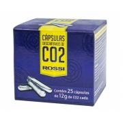 Capsula CO2 Pressão 12G Rossi Caixa 25 unidades