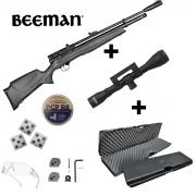 Carabina Pressão Rossi Beeman 1336 5,5mm + Kit Maleta Luneta