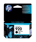 CARTUCHO DE TINTA ORIGINAL HP 920 PRETO 11ML CD971AL