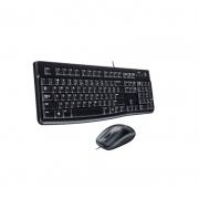 Kit Combo Teclado Mouse Logitech Mk120