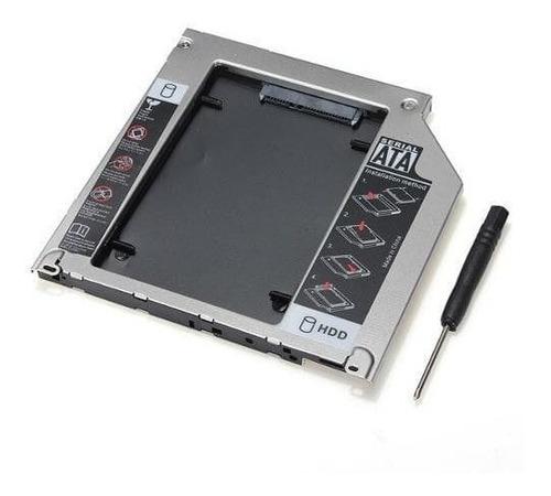 Adaptador Dvd Para Hd Ou Ssd Notebook Slim Caddy 9.5mm Knup