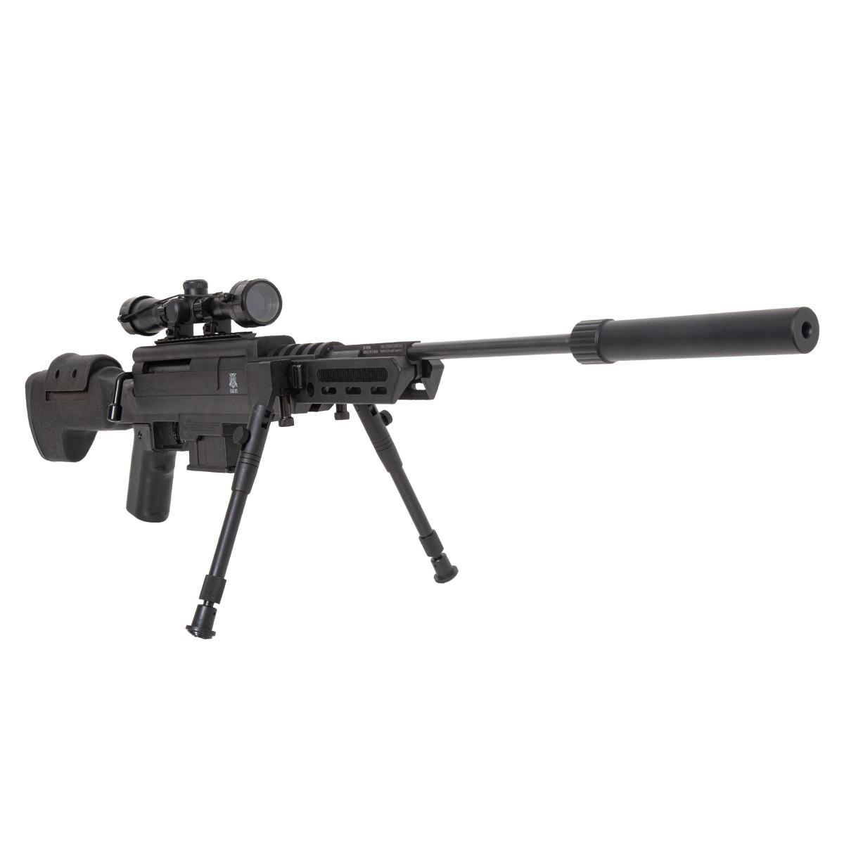 Carabina de Pressão SAG Black OPS Sniper 5.5mm Gás Ram