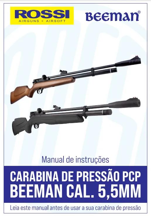 Carabina Pressão Rossi Beeman 1338 5,5mm + Kit Maleta Bomba