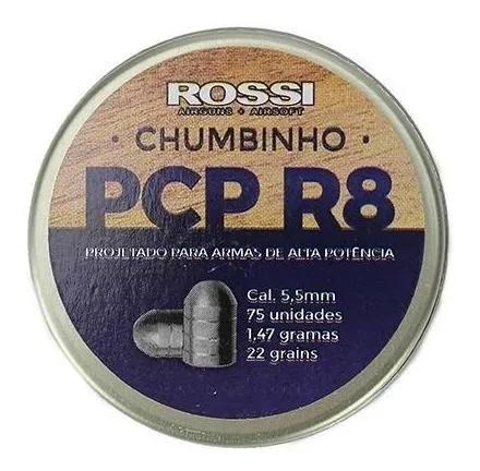 Carabina Pressão Rossi Beeman Pcp 1338 5,5 Kit Luneta Bomba