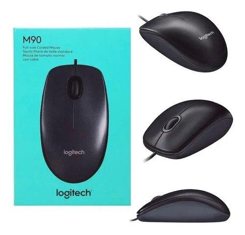 Mouse Logitech M90 Óptico Usb 1000dpi