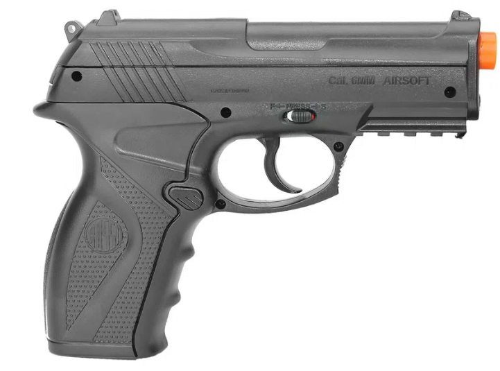 Pistola Airsoft Co2 Wingun C11 6,0mm Rossi