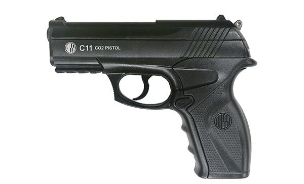Pistola de Pressão Co2 Wingun C11 4,5mm Rossi