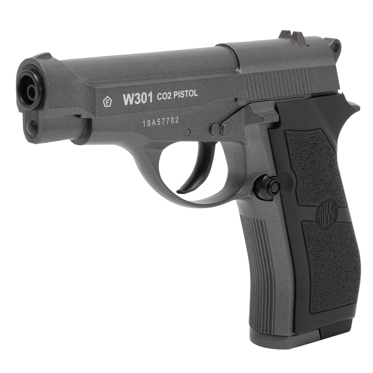 Pistola W301 CO2 Wingun 4,5mm Full Metal + kit