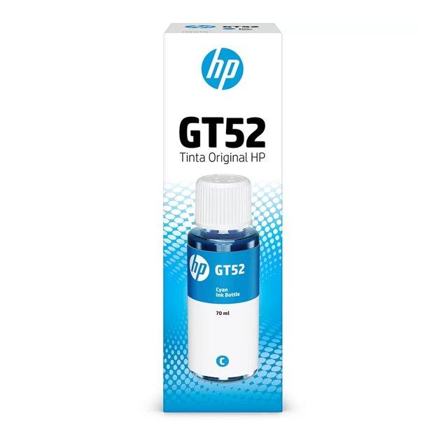 REFIL HP GT52 ORIGINAL M0H54AL 70ML CIANO
