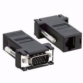 Adaptador Vga Macho X Rj45 para Cado de Rede