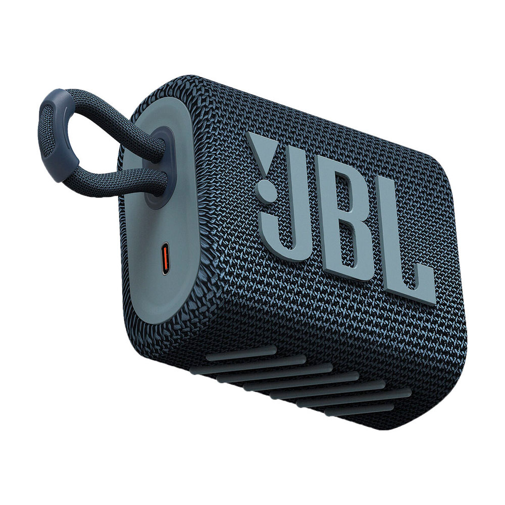 Caixa de Som JBL GO 3 Bluetooth à Prova D'água Azul