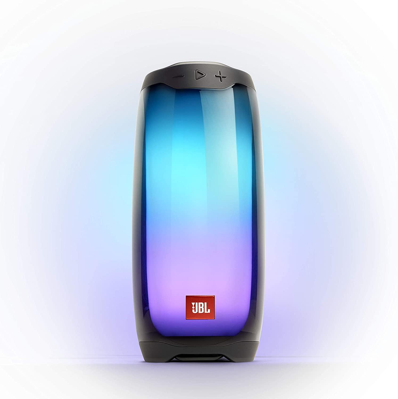 Caixa De Som Portátil Bluetooth Preta (JBL PULSE 4 BLK)- JBL