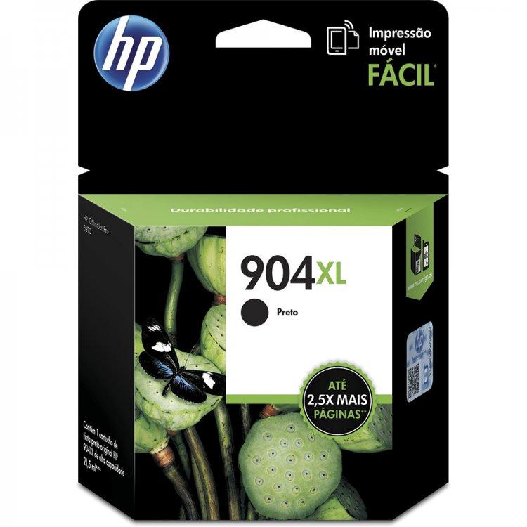 Cartucho de Tinta Compativel HP 904XL (T6M00AB) Preto