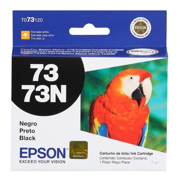 Cartucho de Tinta Epson 73 (To731) Preto 7ml