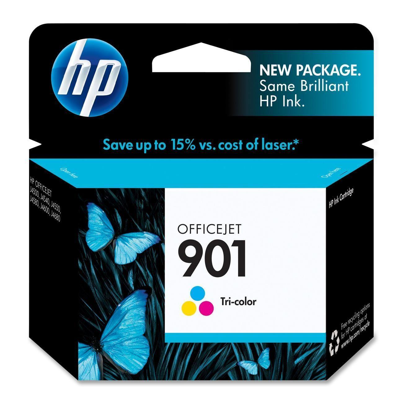 Cartucho de Tinta HP 901 (Cc656) Colorido 13ml