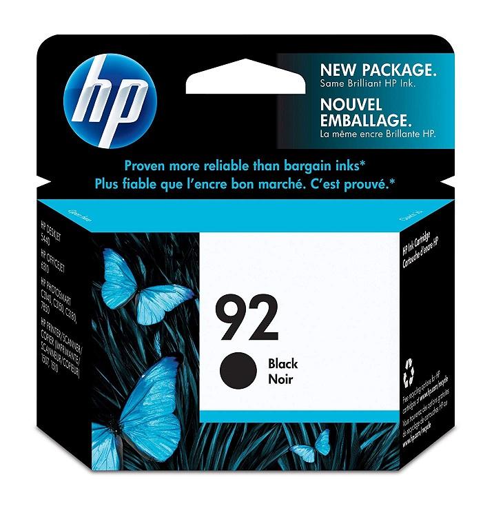 Cartucho de Tinta HP 92 (9362)  Preto 5,5ml