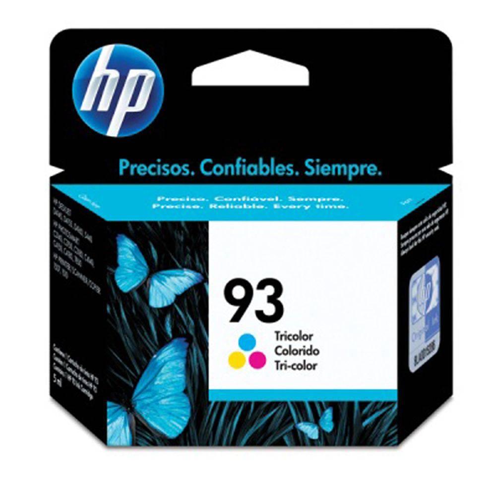 Cartucho de Tinta HP 93 (9361) Colorido 7ml