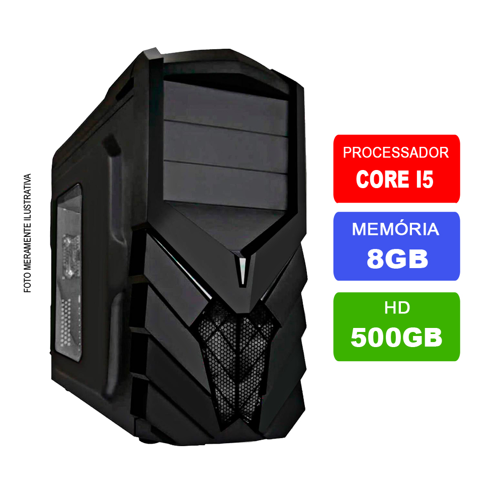 Computador Intel Core I5 8GB Ram Hd 500Gb