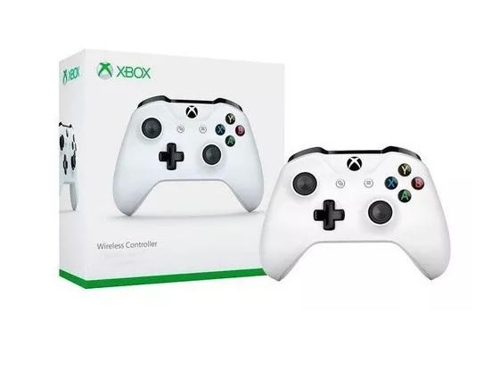 Controle Sem Fio Para Xbox One Branco - Microsoft