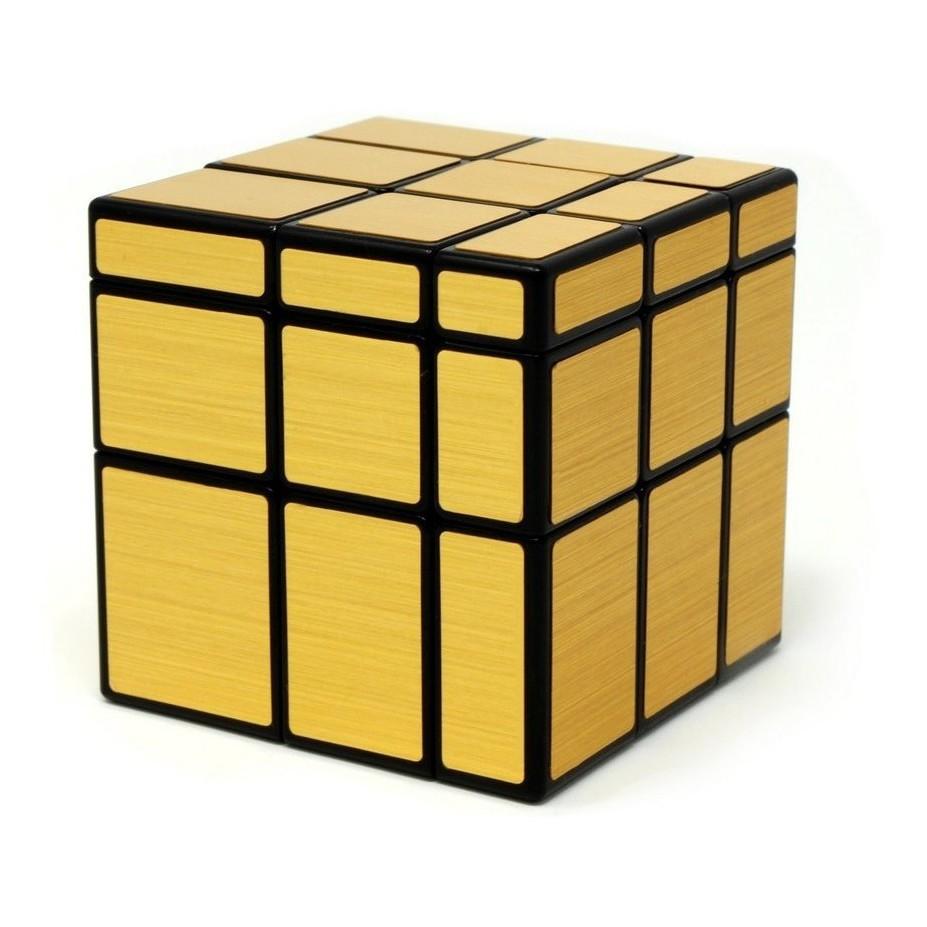 Cubo Mágico Mirror Cube Espelhado Blocks Dourado