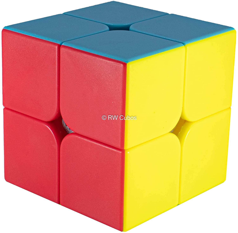 Cubo Mágico Profissional 2 - 2x2x2 Colorido - Qiyi