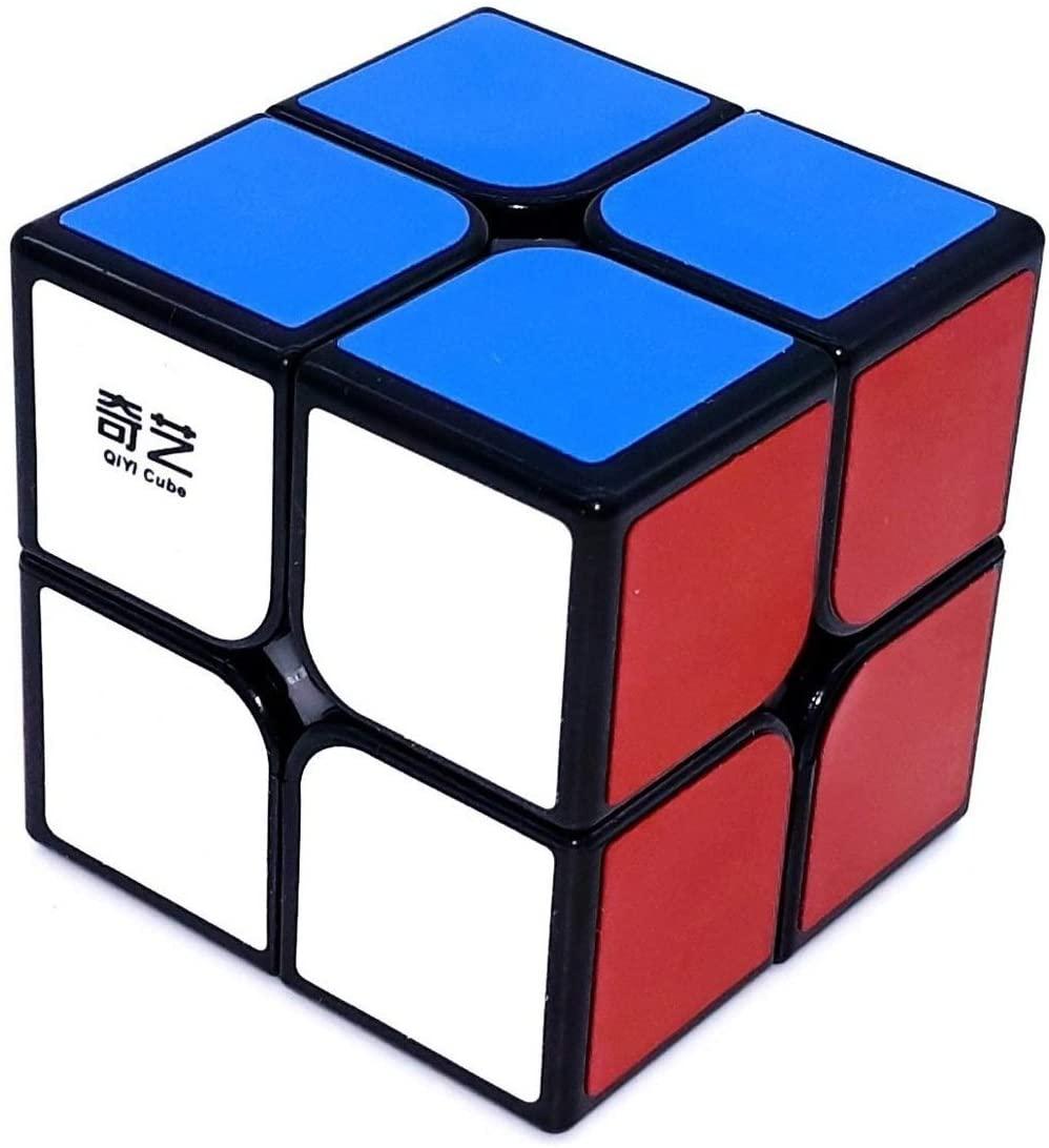 Cubo Mágico Profissional 2 - 2x2x2 Preto - Qiyi