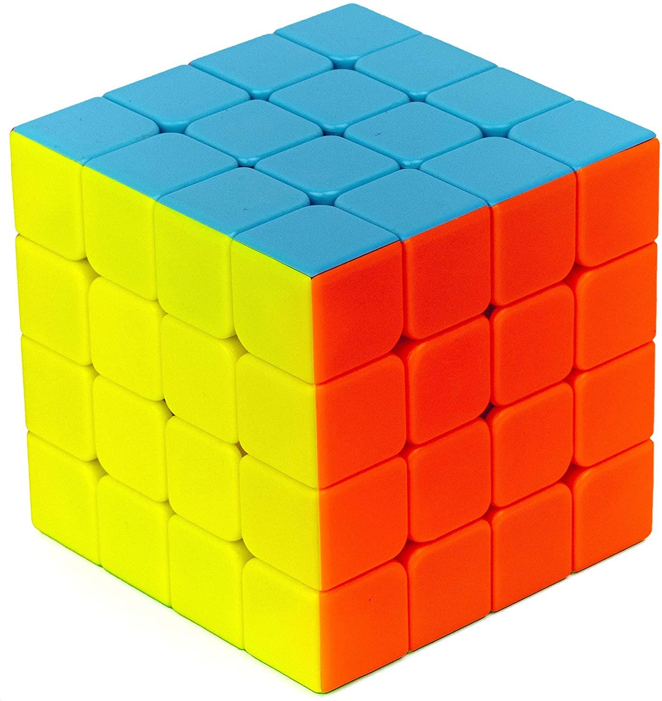 Cubo Mágico Profissional 4- 4x4x4 Colorido - Qiyi
