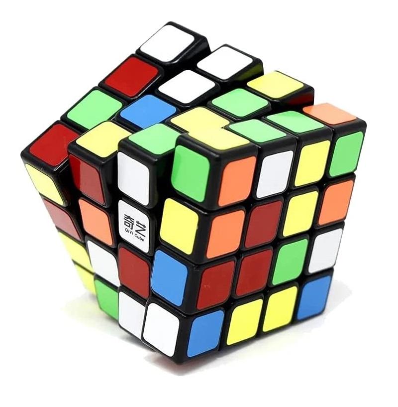 Cubo Mágico Profissional 4 - 4x4x4 Preto - Qiyi