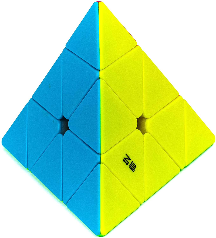 Cubo Mágico Profissional Pyraminx  Colorido - Qiyi