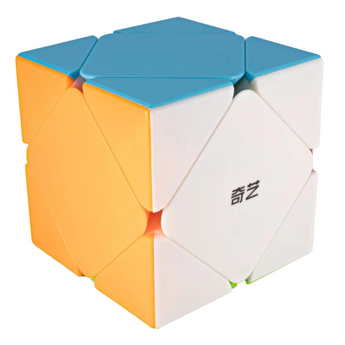 Cubo Mágico Profissional Skewb Qiyi QiCheng Colorido - Qiyi-Mfg