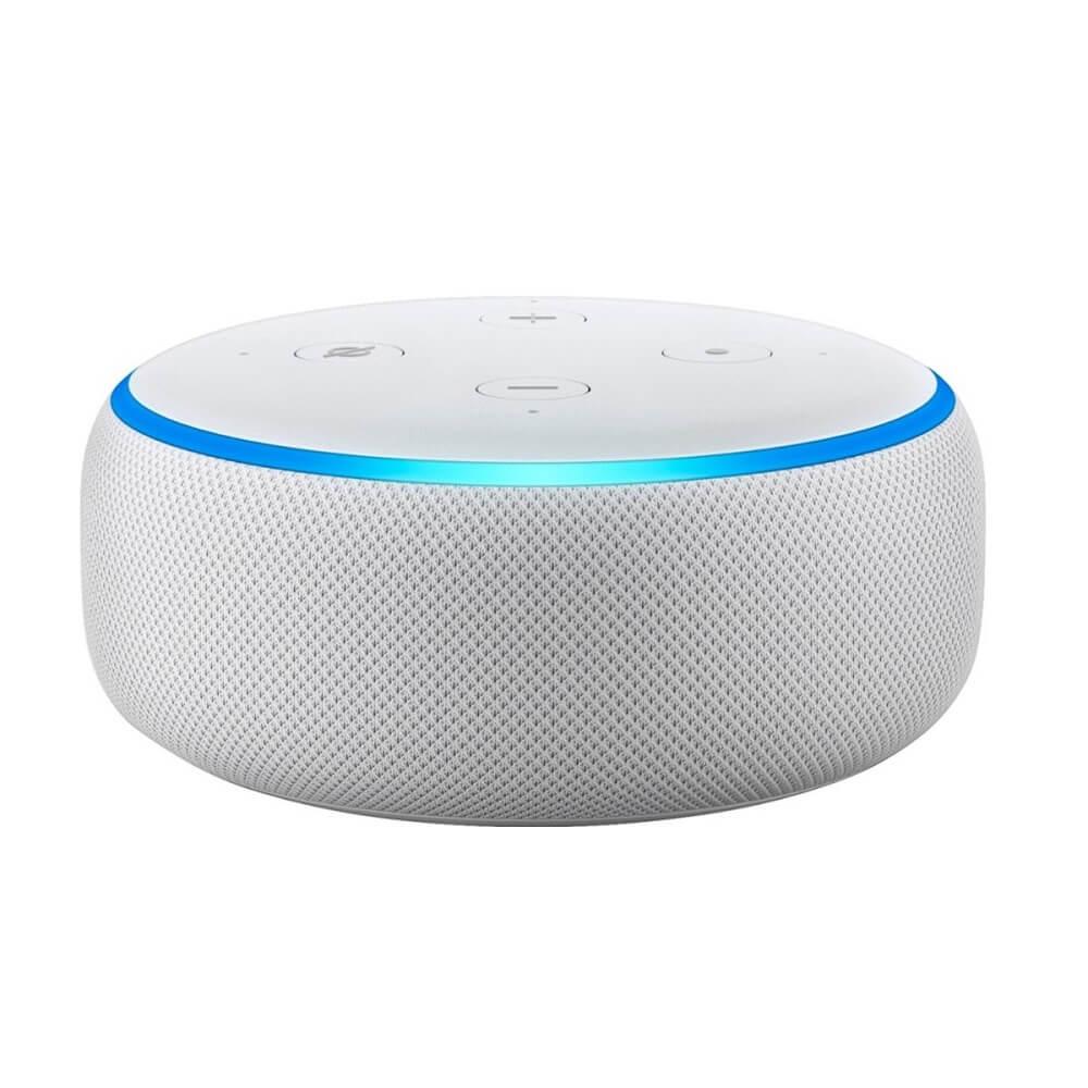 Echo Dot Alexa Smart Speaker 3ª Geração Branco - Amazon