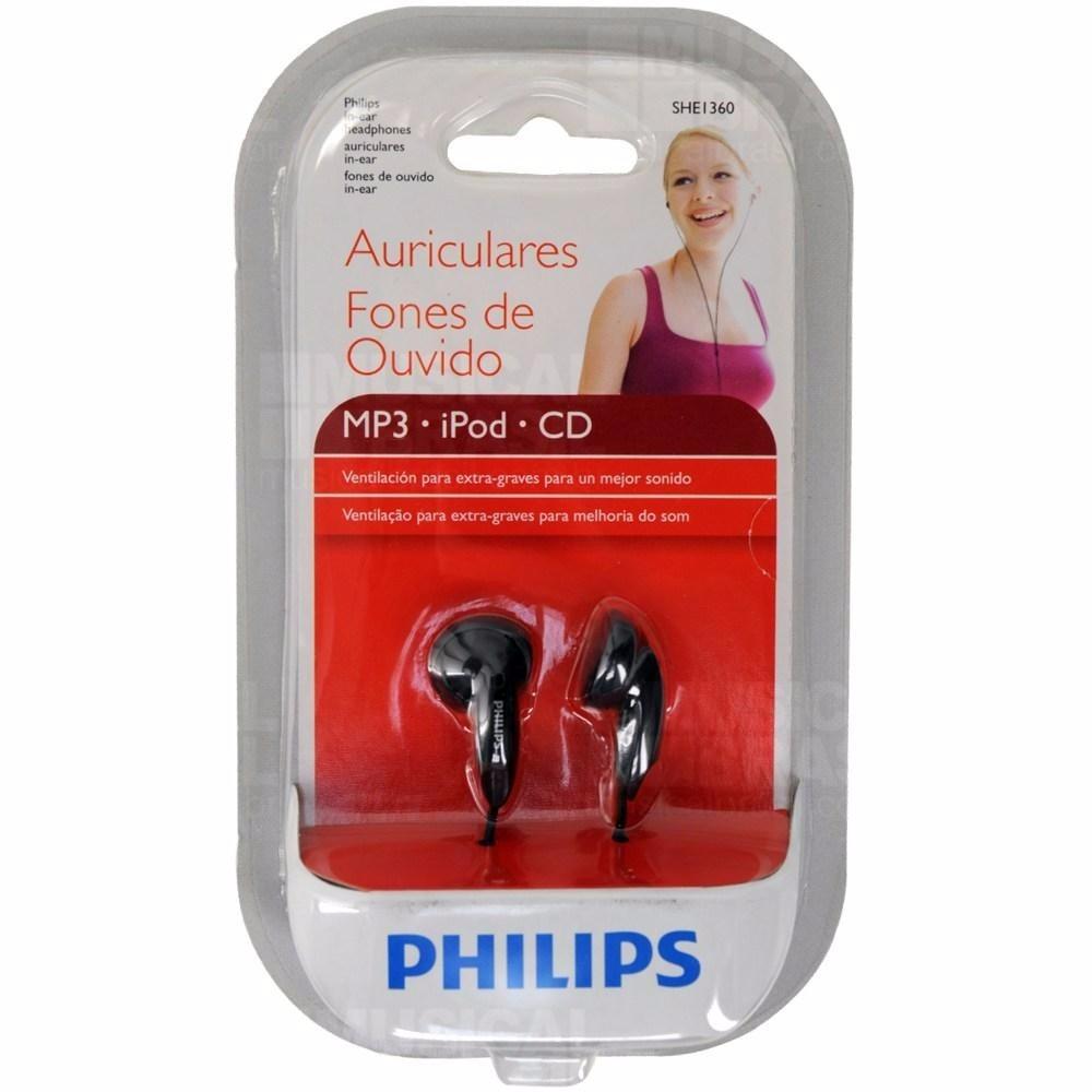 Fone de Ouvido SHE1360 - Philips