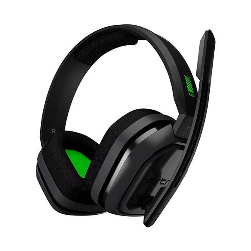 Fone Gaming A10 para Xbox One, PC, Nintendo Switch e Mac Cinza e Verde ( 939-001837 )- Astro