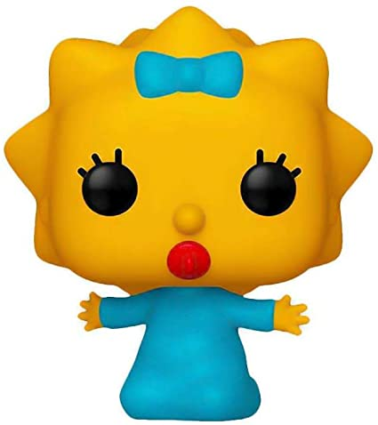 Funko POP Maggie Simpson - Os Simpsons #498