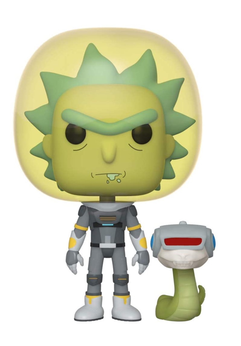 Funko Pop Space Suit Rick With Snake - Rick and Morty #689