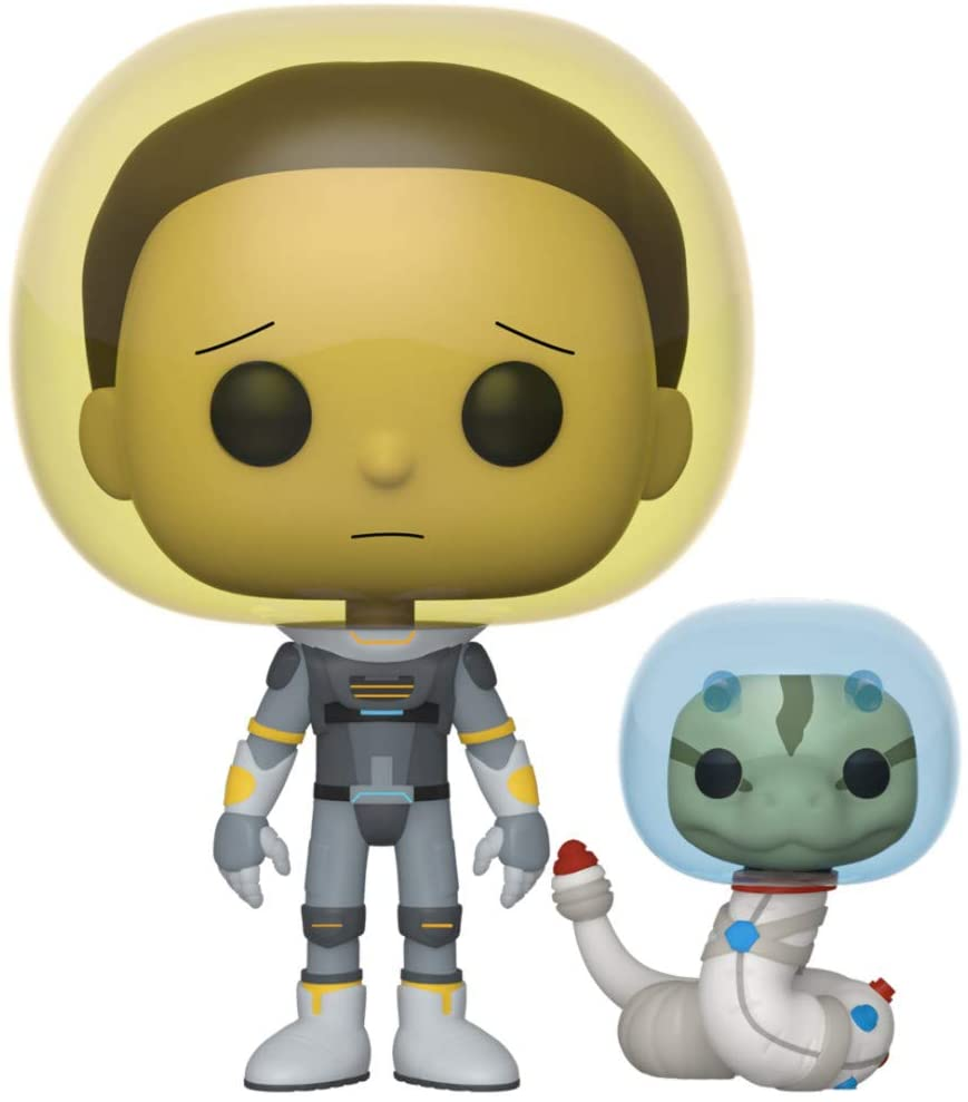 Funko Pop Space Suit Rick With Snake - Rick and Morty #690