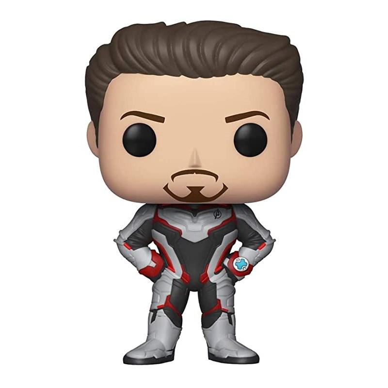 Funko Pop Tony Stark (Homem de Ferro)- Vingadores Ultimato #449