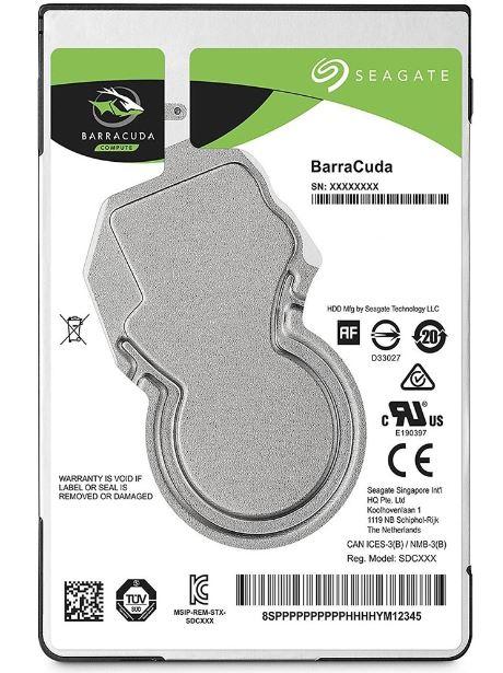 HD 500GB Seagate p/ Notebook 5400RPM SATA