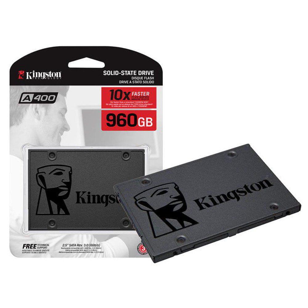 Hd Ssd 960Gb Kingston Sata 3 2.5