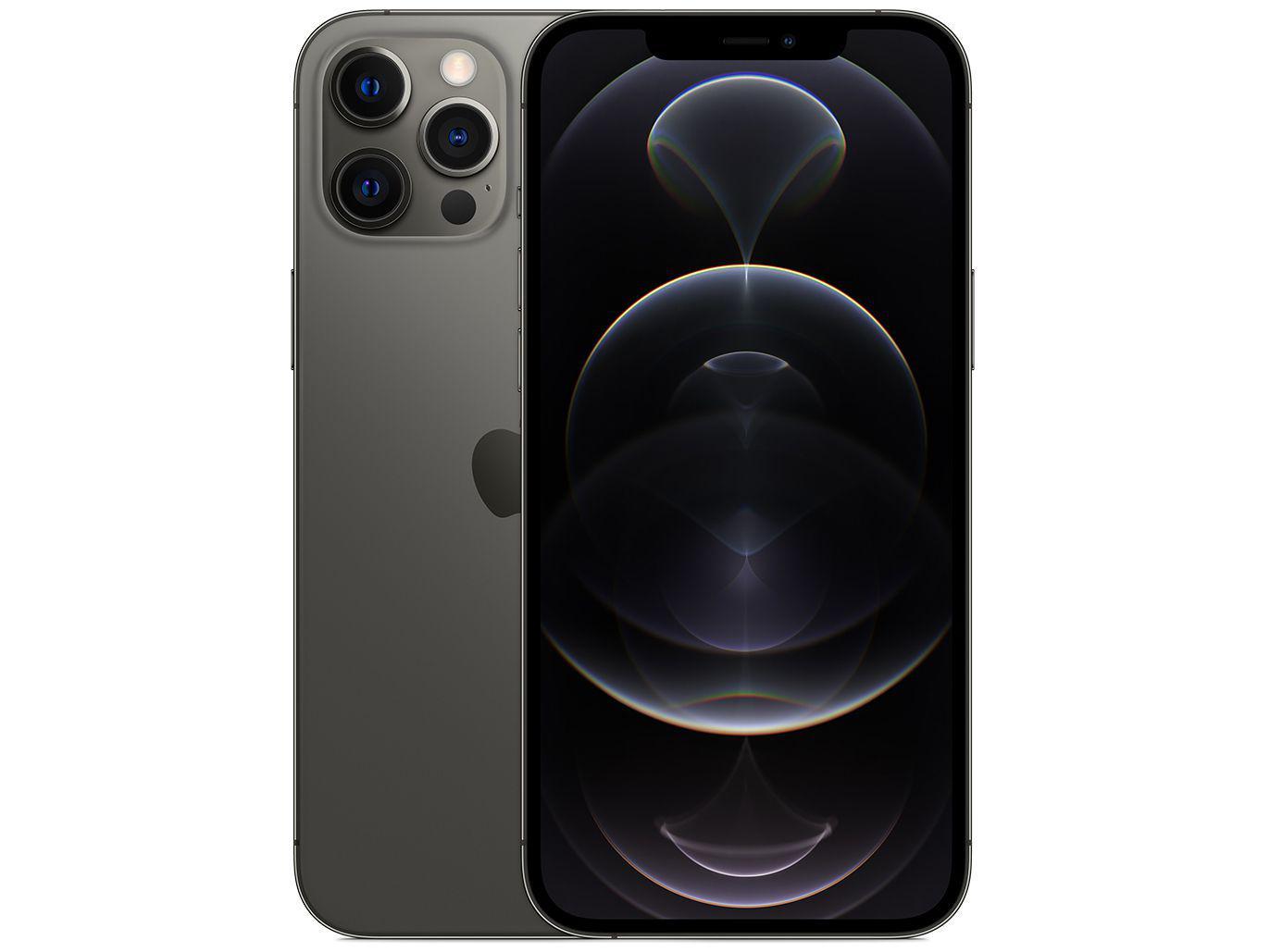 iPhone 12 Pro, Grafite, com Tela de 6,1